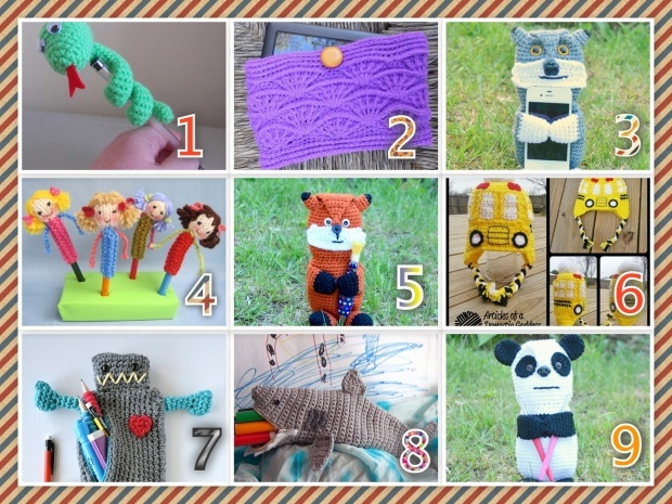 Back TO School Pattern Roundup